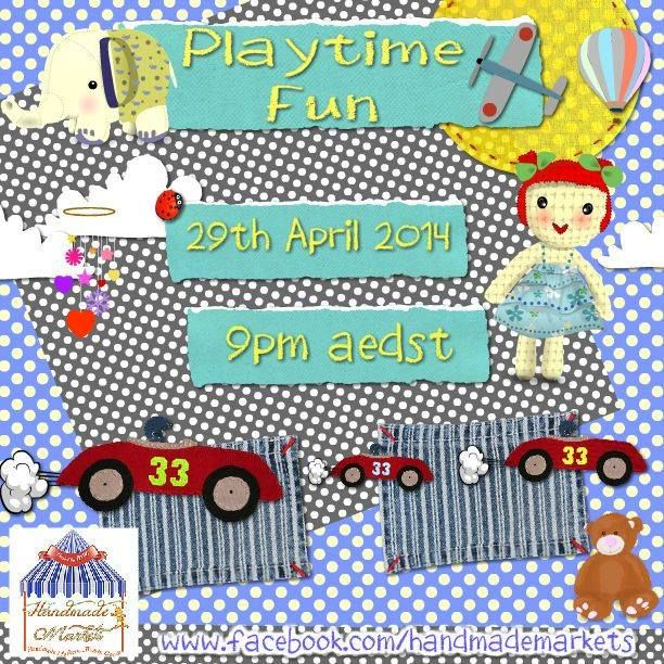 Playtime Fun Market Night opens at 9pm, on Tuesday 28th April, 2014