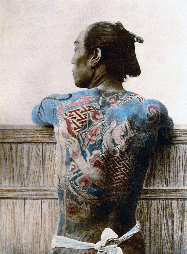 Fotografias do Último Samurai de 1800 - Assuntos Criativos