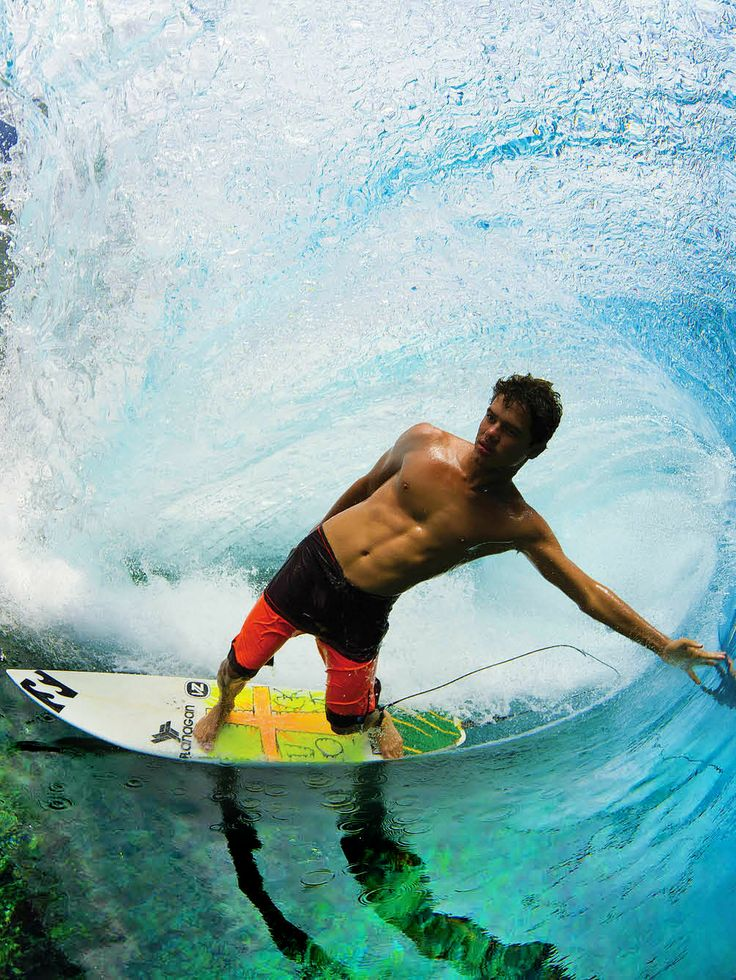 Best BeachesWaves Images On Pinterest Artists Death And - Surfing inside 27 second long barrel wave
