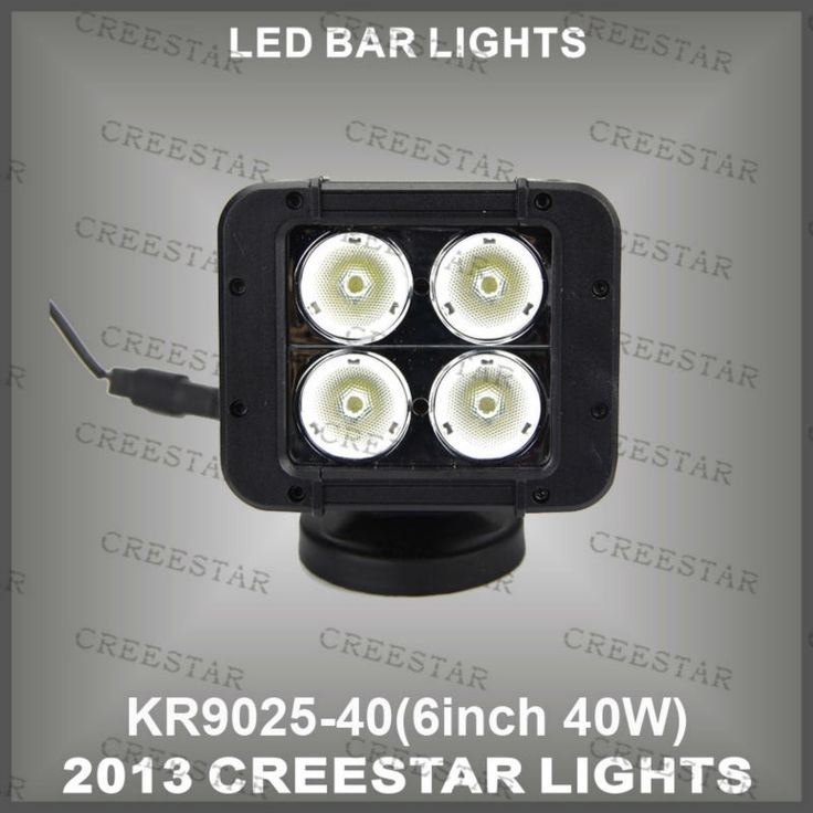 """19.28$  Watch here - http://ali8n5.shopchina.info/go.php?t=1653970139 - """"5"""""""" Auto Accessories 40w Led Flood Work Light bar 40w led spot driving lights KR9025-40 10w  led offroad lights""""  #buyonline"""