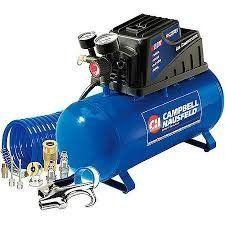 Campbell Hausfeld 3 Gallon, 110psi Air Compressor & 11pc... - http://toolsshack.com/campbell-hausfeld-3-gallon-110psi-air-compressor-11pc/