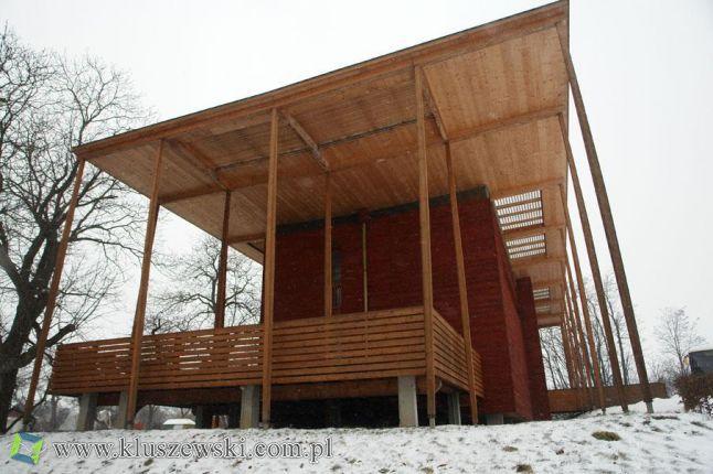 Projekty domów nowoczesnych - S-House: budynek pasywny ze słomy