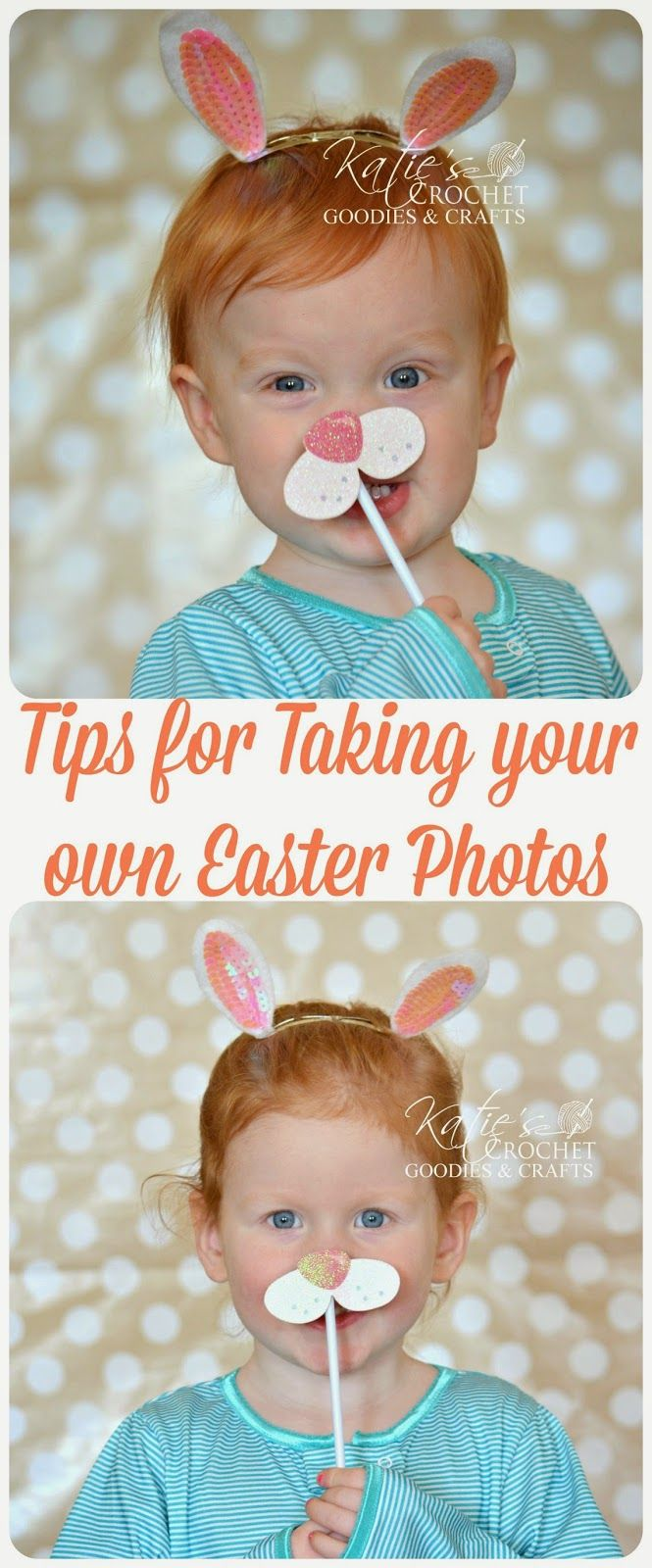How to Take Professional Pictures at Home - Easter photography #kids photos