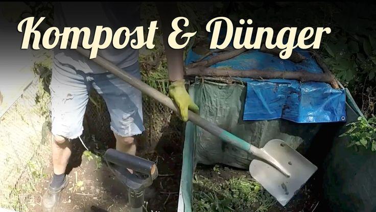 Herbst   Kompost anlegen, Düngen im Gemüsegarten   GARTEN