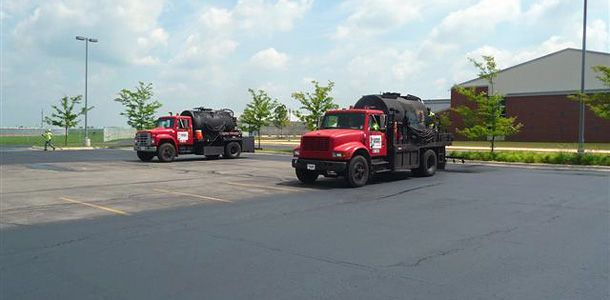 #SealcoatingDrivewayTaylorMi - Our skilled, professional crews use only the finest state of the art repair equipment ensuring our customers total satisfaction. Our Michigan asphalt company provides asphalt seal coating and asphalt crack filling for Southeastern Michigan and the metro Detroit area.