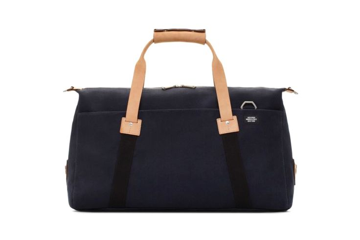 UNITED ARROWS x Jack Spade Soft Duffle & Dipped Coal Bag