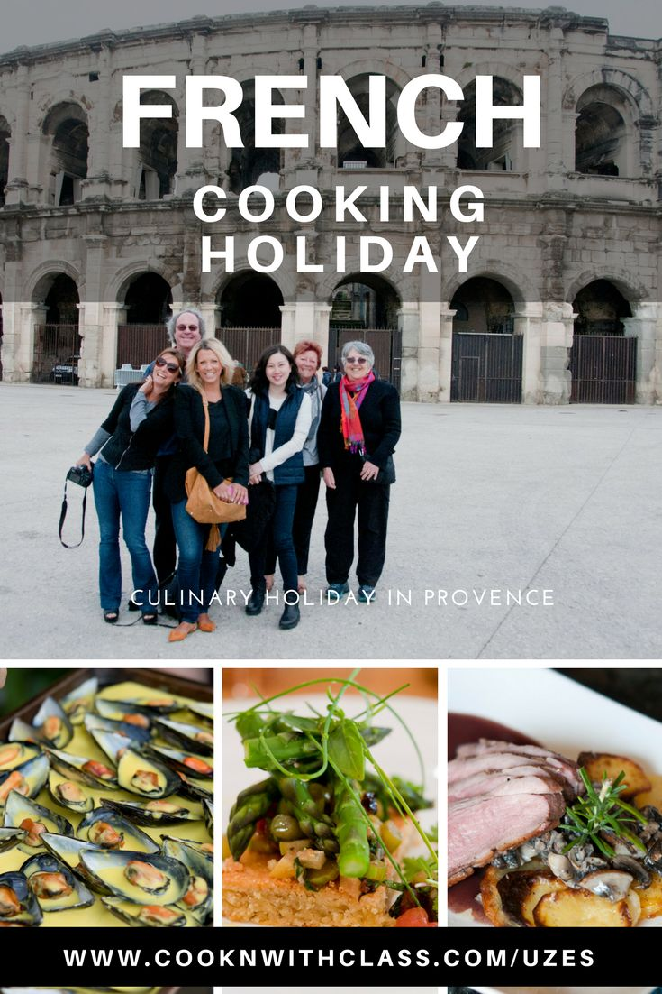A week of cooking, tasting and tours in the South of France with a French chef as your culinary guide. A Week in Uzès. Now with special sale on June 18-25 dates.   www.cooknwithclass.com/uzes