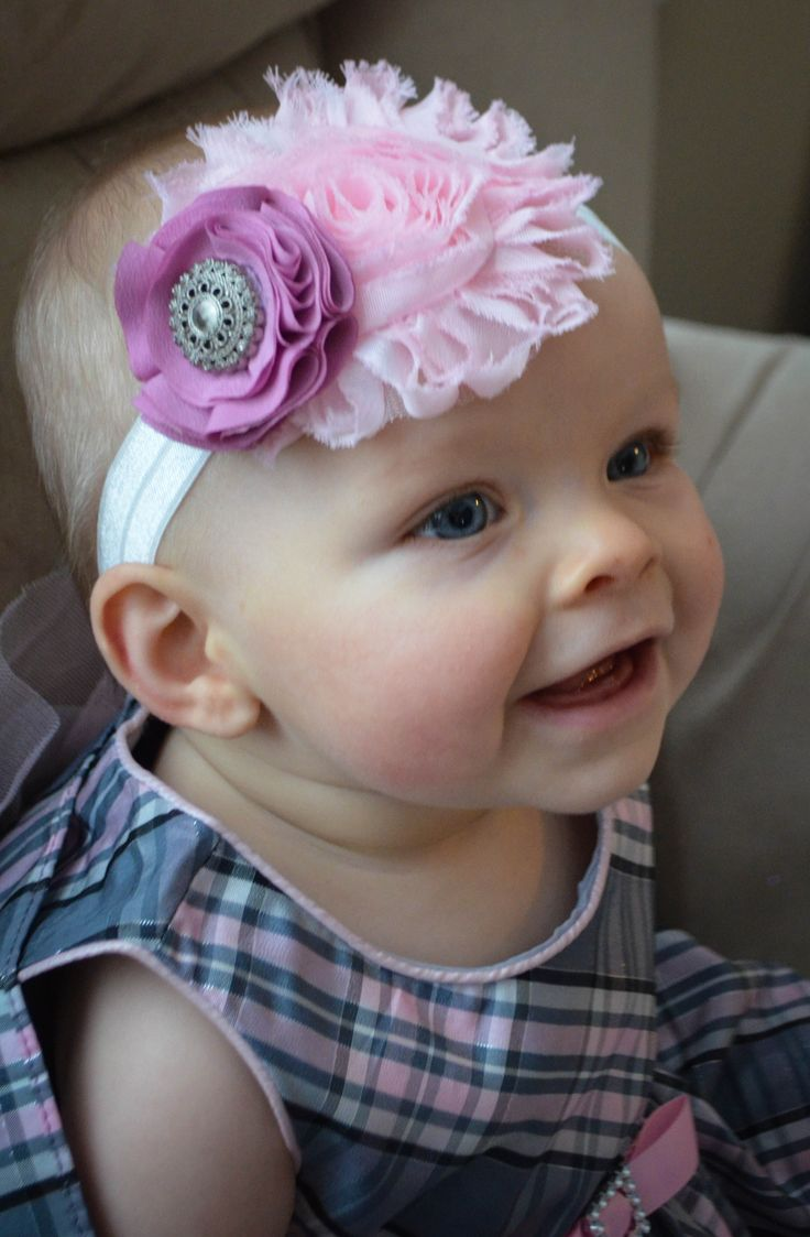 Shabby headband, Baby headband, beautiful, creative hair accessories, baby gifts, hair accessories, gems, flower headbands, photography props, dress up, Little Gracie's Creations, https://www.etsy.com/ca/people/mlingley1?ref=si_pr