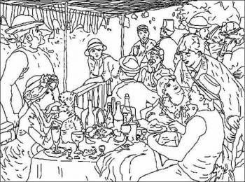 Renoir : Le déjeuner des canotiers