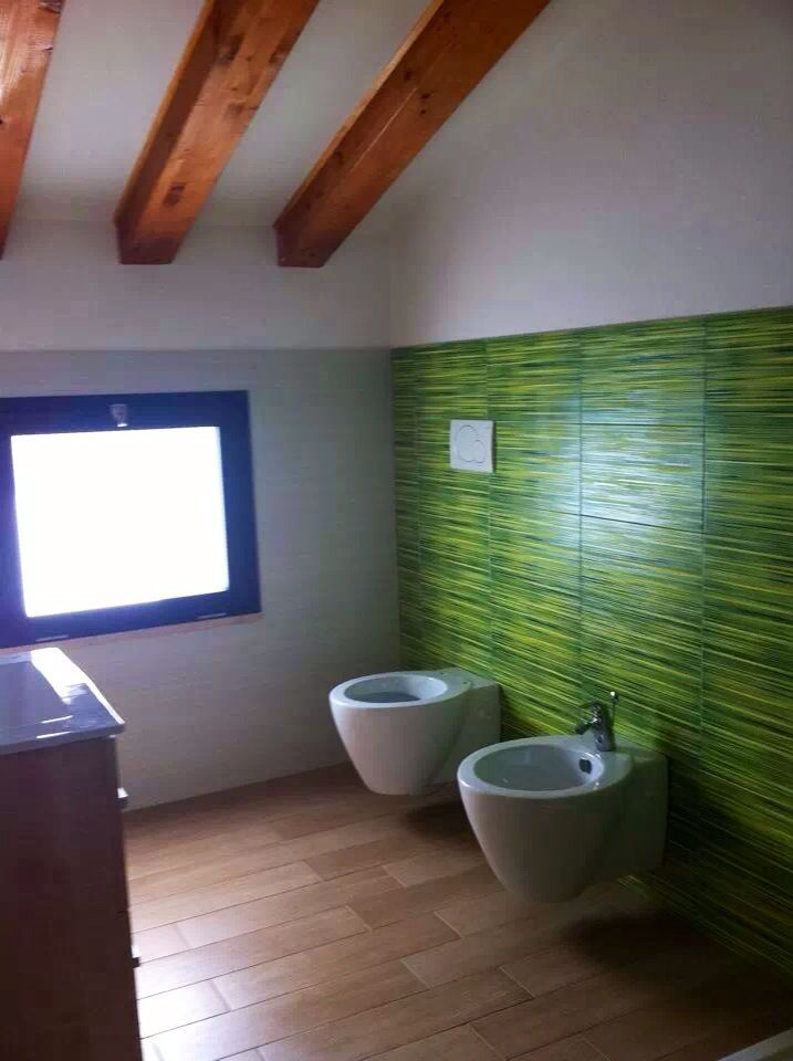 Bathroom green  arch.T.Borzí/arch.V.Rinaldi