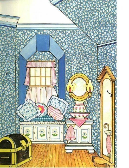домики для бумажных кукол своими руками картинки ахти, лучше