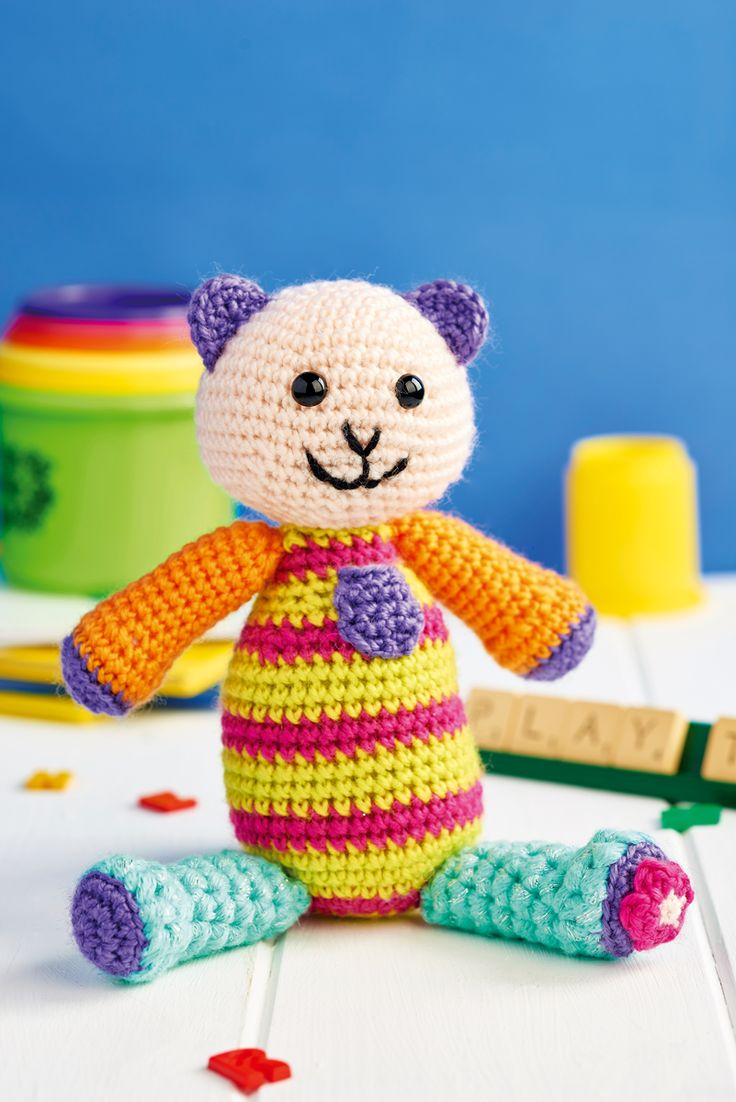 340 best toys knitting crochet patterns images on pinterest crochet teddy bear lets get crafting issue 93 image cliqq bankloansurffo Choice Image