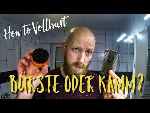 Den Bart bändigen! Bartkamm oder Bartbürste?! - YouTube