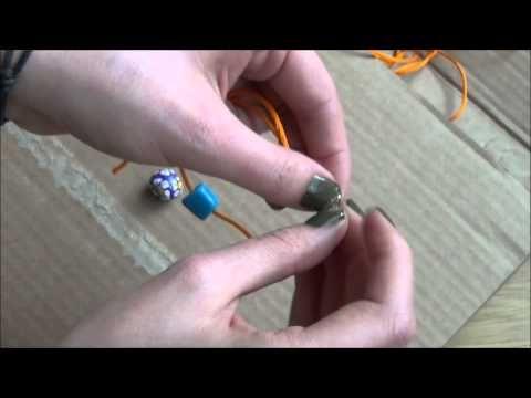 Ayarlanabilir bileklik ve kolye - YouTube