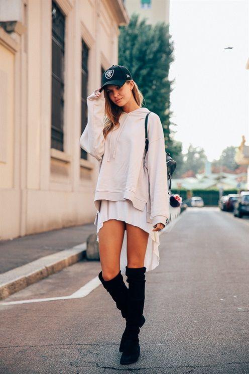 JOSEPHINE SKRIVER - Model's look: lo stile delle modelle alle sfilate di Milano - SS17 MFW - Sep 2016 - Vogue.it