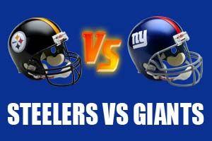 Pittsburgh Steelers vs New York Giants Live Streaming