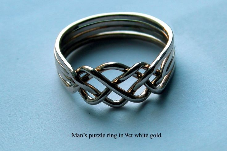 how to make a puzzle ring, the link isn't opening for me but this is beautiful.