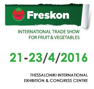 H TROPOS στην έκθεση FRESKON στις 21-23/04/2016 | The DKG GROUP Calendar