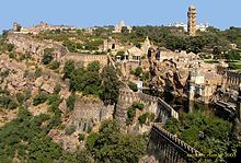 Chittorgarh Fort is one of the largest forts in Asia.