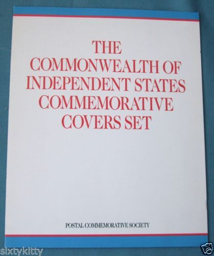 The Commonwealth of Independent States Commemorative Covers Set. Soviet Union