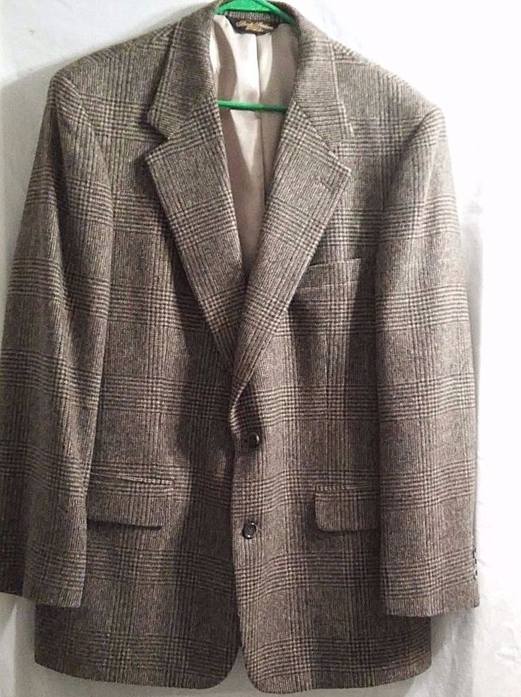 Brooks Brothers Men's Sport Suit Jacket 100% Camel Hair Size 42RG Silk Lined #BrooksBrothers #TwoButton