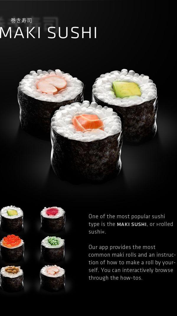 SOOSHI - the sushi app on Behance