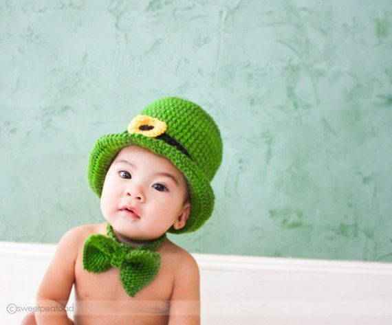 Luck of the Irish Hat by sweetpeatoadtots on Etsy