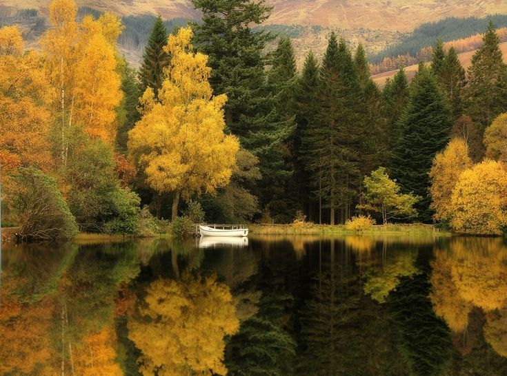 . Пруд Гленко-Лохан, Шотландия.