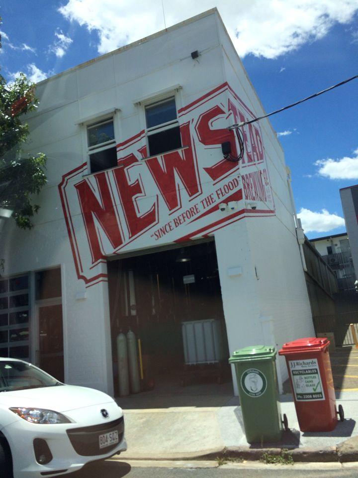 Newstead Brewing Co. in Newstead, QLD