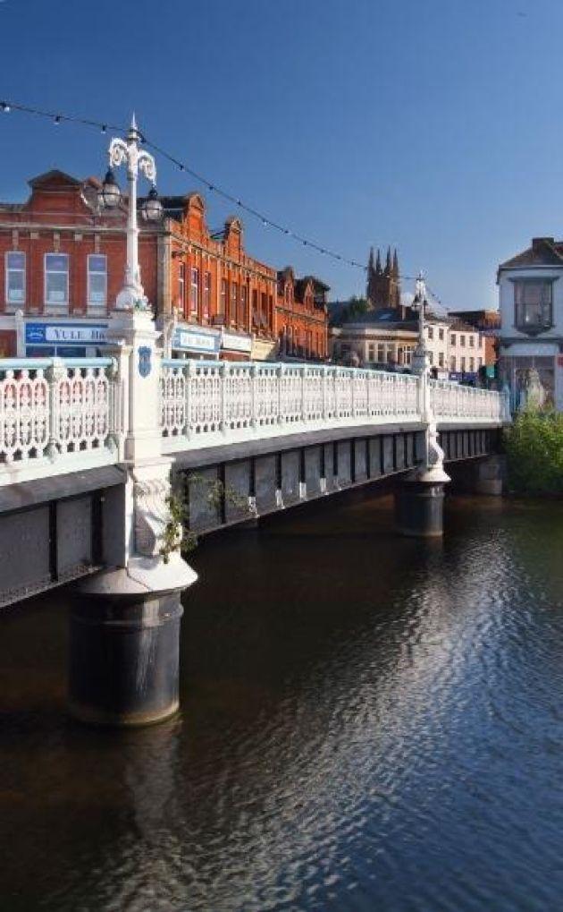 The town bridge