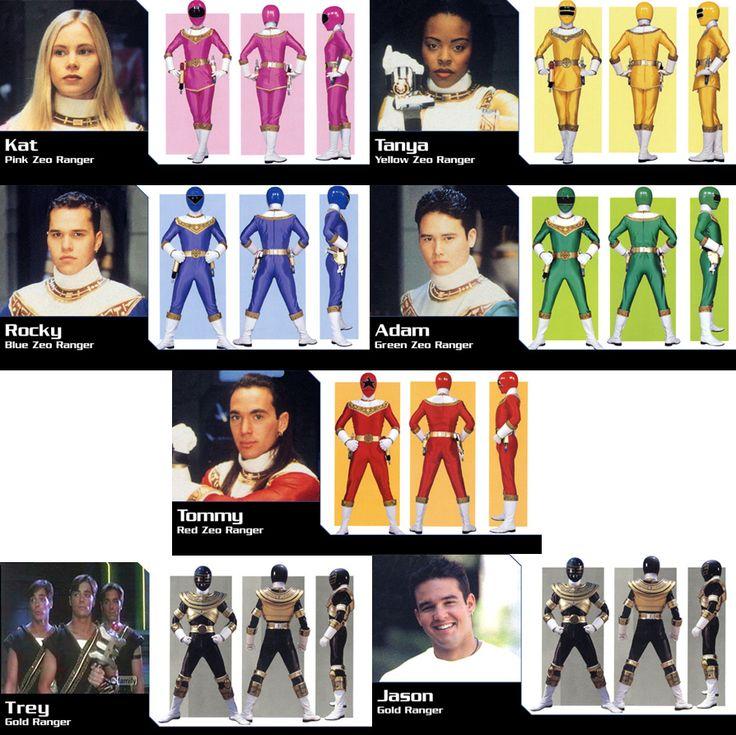 Power Rangers Zeo Season 4