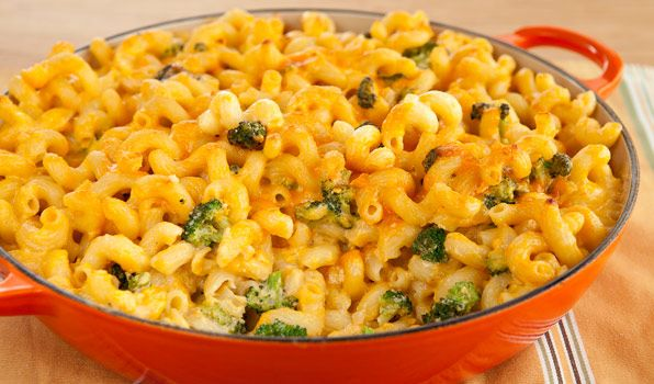Creamy and cheesy, this homemade macaroni and cheese is pure comfort food!
