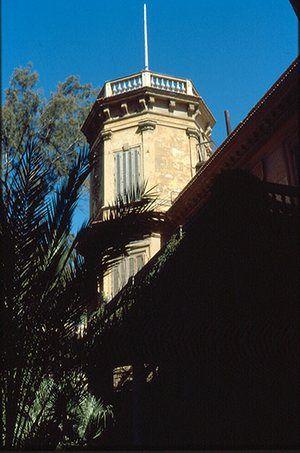 Alexandria City of Memory: Durrell's tower at the Ambron villa
