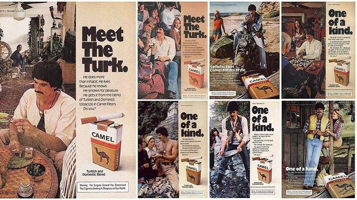 Meet the Turk; he lives because he knows, he smokes for pleasure. 🔥🌹🔥 1974'