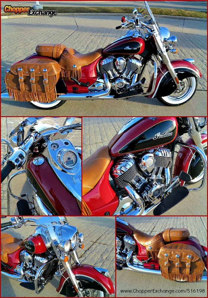 FOR SALE 2015 Indian Chief Vintage | BRAND NEW!! | Bloomfield Hills, MI | MotorCity Motorcycles | Click the image for more details or go to www.ChopperExchange.com/516198 | #motorcycle #indianmotorcycle #ChopperExchange #bike