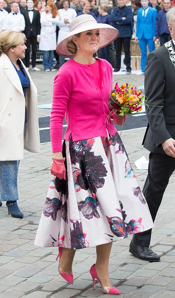 Dutch Royal Family Attend King's Day on April 27, 2016 in Zwolle, Netherlands.