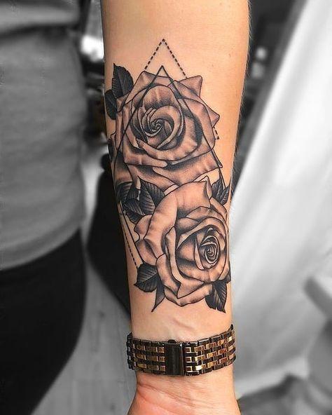Flower / Flor 🌻🌹 Marque O Tatuador(a), Mark The Tattoo