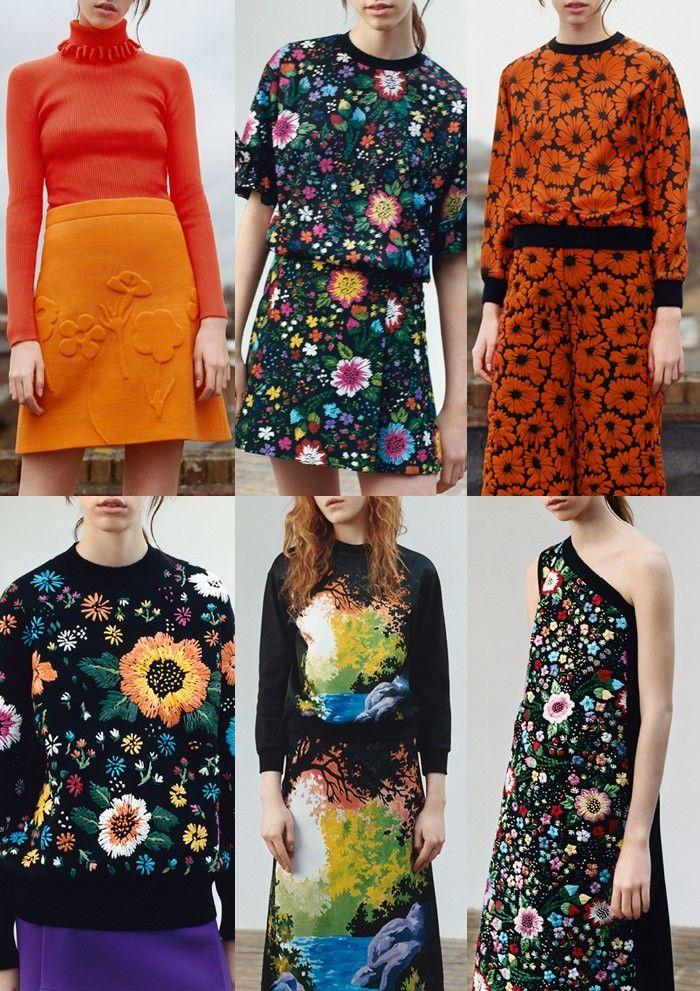 London Fashion Week Womenswear Print Highlights Part 2 – Autumn/Winter 2016/17