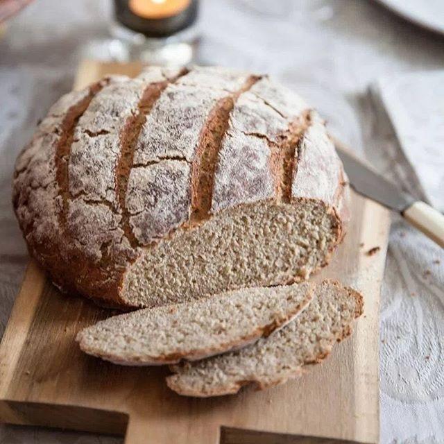 Sur le #blog je te raconte mon dîner de samedi avec mes cops et donc le menu. Et on commence avec ce #pain à #igbas #farinedesoja @markal #recette sur #panierdesaison  #bread #lowig #lowcarb #recipe hit the link in my bio