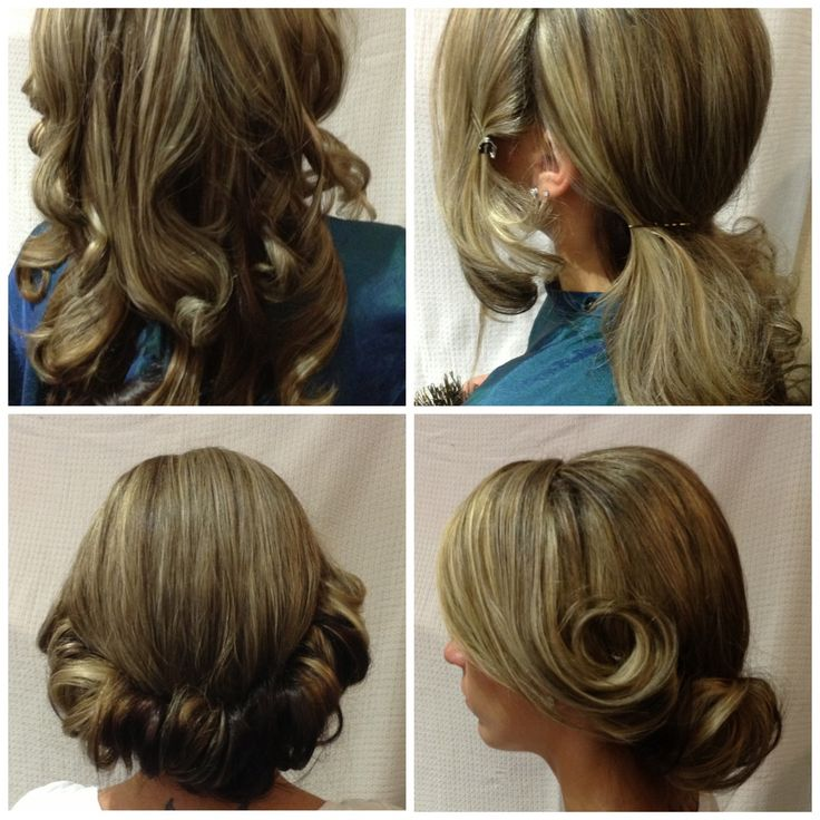 Step By Step Hairstyles: 193 Best Do It Yourself Updos Images On Pinterest