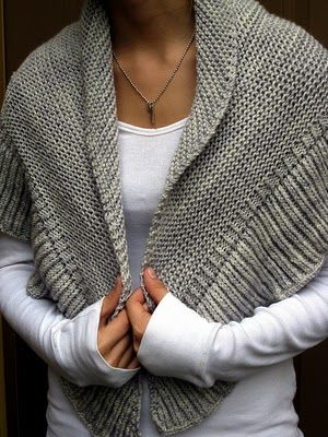 shawl - easy knitting