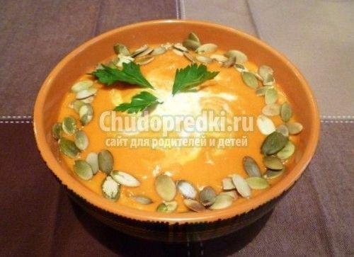Суп пюре из сырых овощей