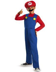 Maskeraddräkt Mario Bros klassisk för pojke