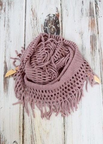 Selleck Fringe Scarf - honeybeat