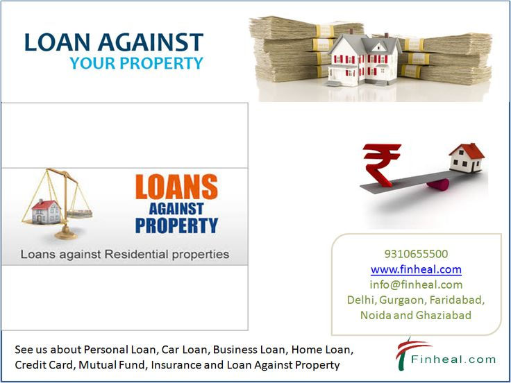 Loan against property (LAP) is also known as 'Home Equity Loans' and is a kind of loan against the security of one's property.  http://www.finheal.com/loan-against-property-in-faridabad
