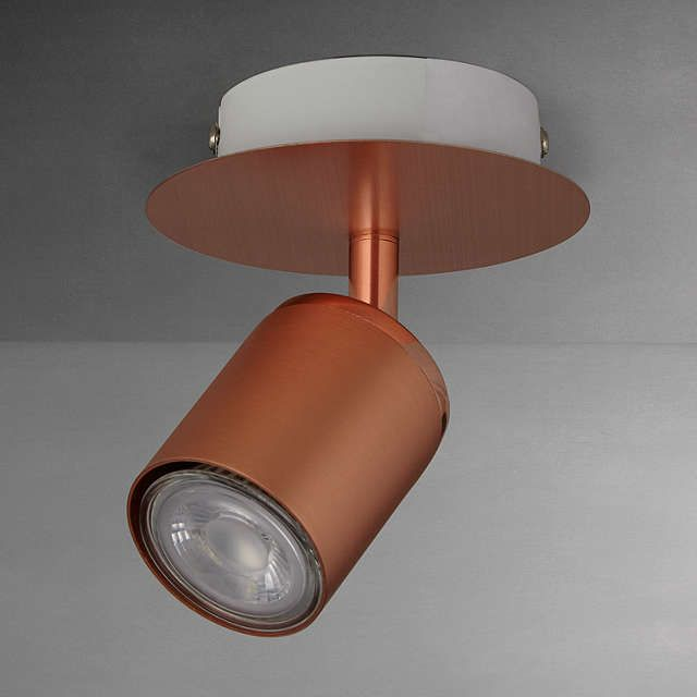 BuyJohn Lewis Mode GU10 LED Spotlight, Copper Online At Johnlewis.com ·  Ceiling LightingKitchen ...
