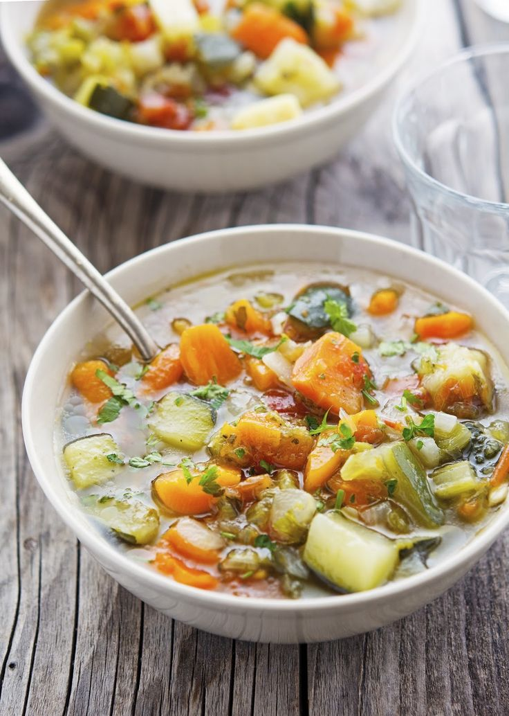 The Iron You: Light Italian Minestrone Soup