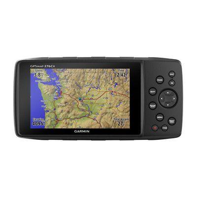 Garmin GPSMAP 276Cx Automotive Bundle w/ Push-Button Controls Support NMEA 0183
