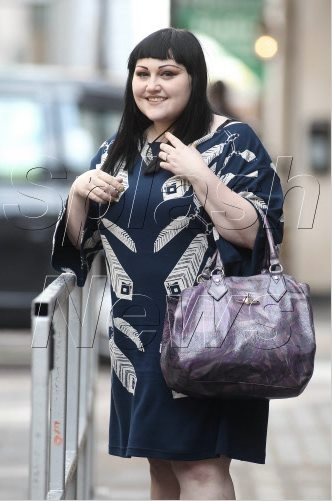 Beth Ditto in an Ivana Helsinki Dress #celeb #streetstyle