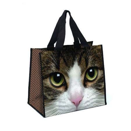 Tabby Cat Face Shopper